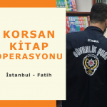 İstanbul Fatih'te Korsan Kitap Operasyonu!