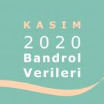 2020 Kasım Ayı Bandrol Verileri